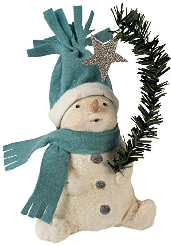Bethany Lowe Designs Wish Upon a Star Snowman Figure