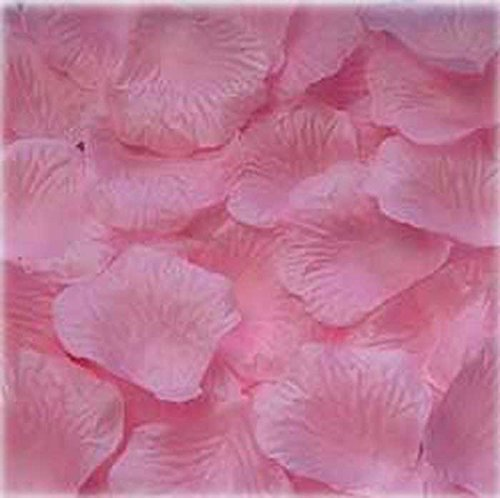 1000pcs Light pink Silk Rose Petals Bouquet Artificial Flower Wedding Party Aisle Decor Tabl Scatters Confett
