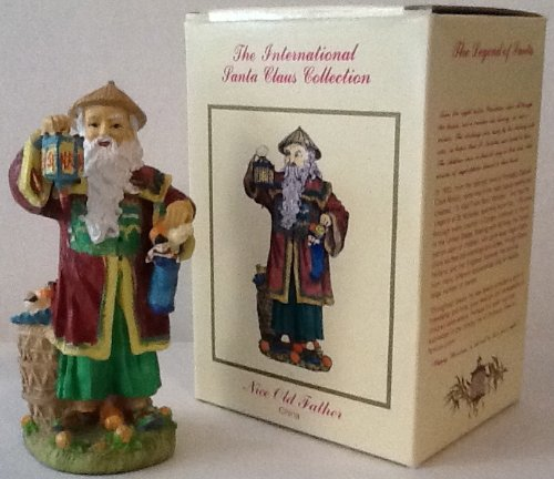 Nice Old Father - China Christmas Figurine (The International Santa Claus Collection)