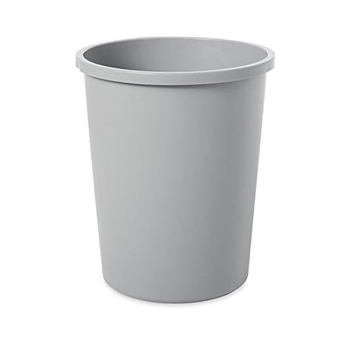 Rubbermaid Commercial Untouchable Trash Can, 11 Gallon, Gray, Fg294700gray