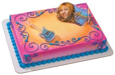 Hannah Montana Lip Gloss Guitar Cake Topper Set