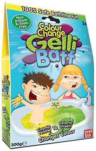 Zimpli Kids Cosmic Yellow Baff Color Change Box, 300G