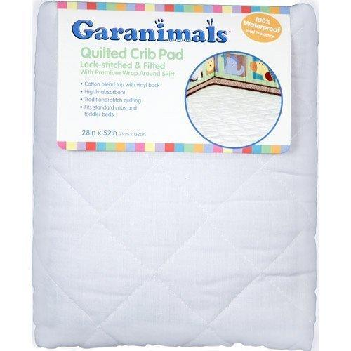 Garanimals - Quilted Fitted Crib Pad 28X52