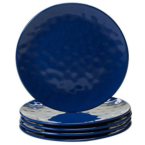 Certified International 9 Salad/Dessert Plate (Set Of 6), Cobalt Blue