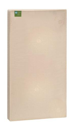 Sealy Soybean Natural Dream Infant/Toddler Crib Mattress - Hypoallergenic Soy Foam, Luxurious Cotton Cover, Waterproof, Allergy Barrier, Lightweight, Air Quality Certified Foam, 52X28