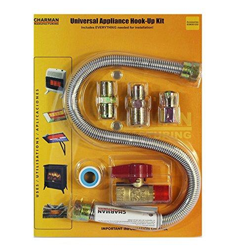 22 One Stop Universal Gas Heater-Appliance Hook-Up Kit
