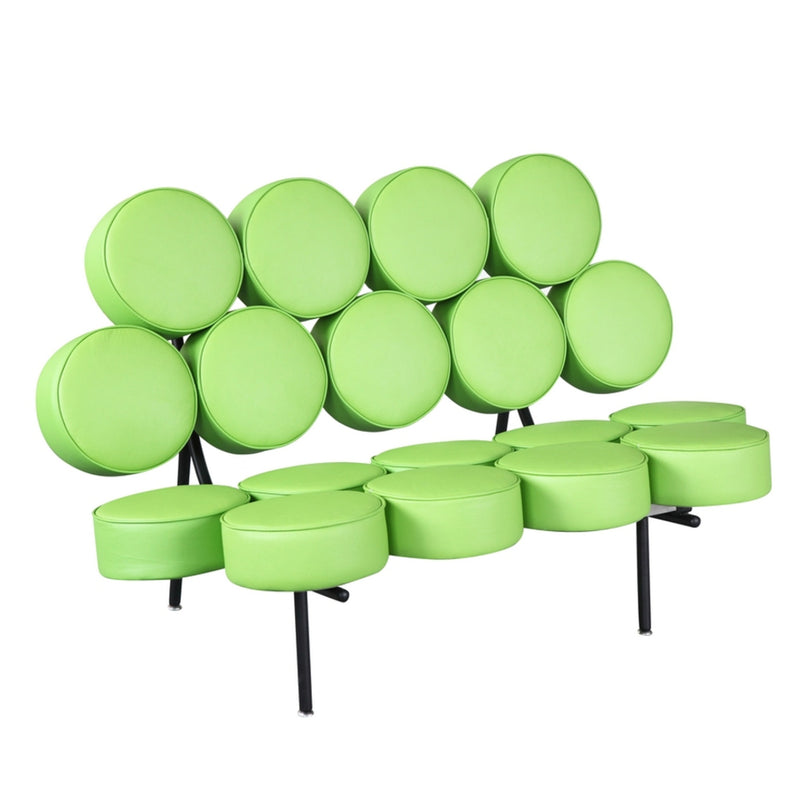 Fine Mod Imports  Circle Sofa, Green