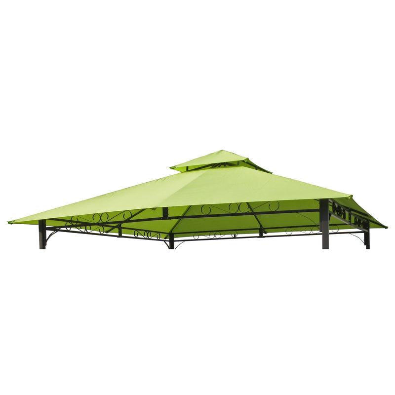 St. Kitts Replacement Canopy for 10 ft. Canopy Gazebo -Lt, Green