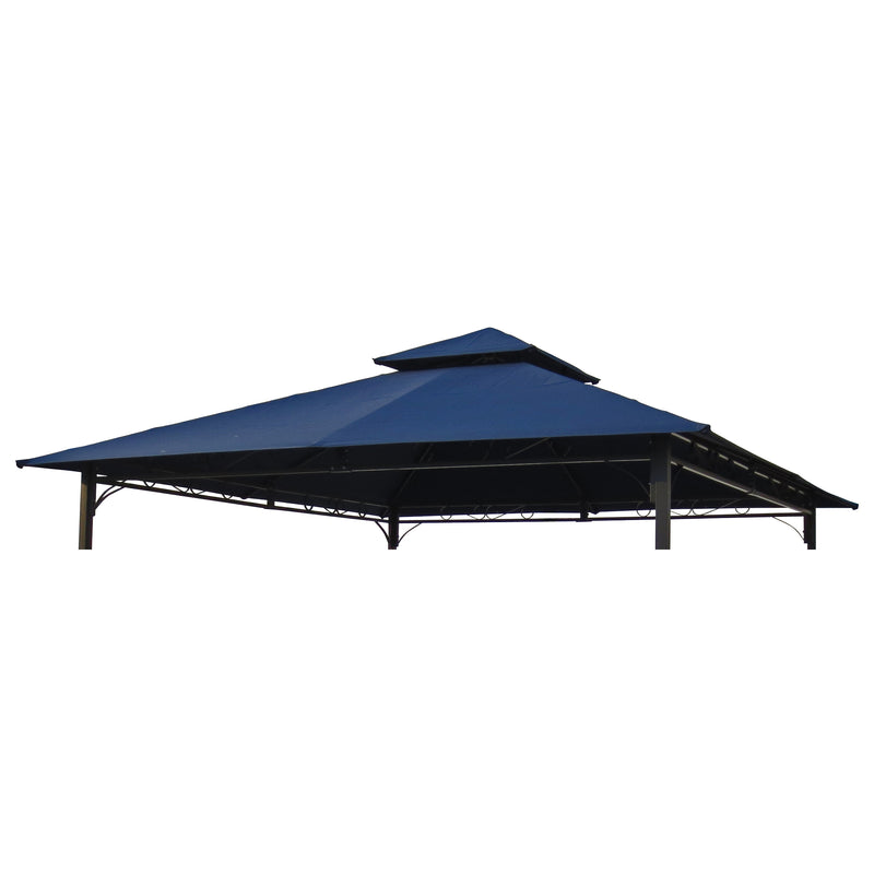 St. Kitts Replacement Canopy for 10 ft. Canopy Gazebo -Navy