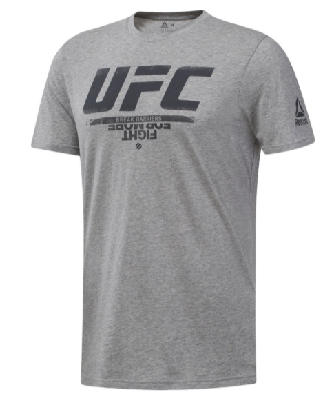 REEBOK UFC FAN T-Shirt Grau
