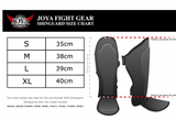 "JOYA ""SKINTEX"" SHINGUARD (SYNTHETIC LEATHER) WHITE"