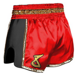8 Weapon - Muay Thai Short SUPER MESH - GOLD BLOCK