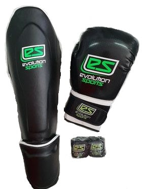 2020 Serie Evolution Sports - Einsteiger Set Kick & Thai - Boxen