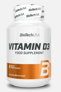 BioTech USA - Vitamin D3  60 Tabletten