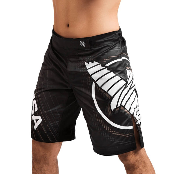 HAYABUSA CHIKARA 4 FIGHT SHORTS - BLACK