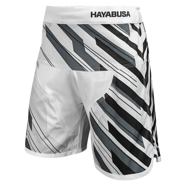 HAYABUSA METARU CHARGED JIU JITSU SHORTS - WHITE