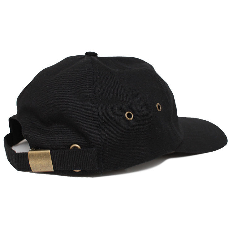 NO GOD 6 PANEL-BLACK