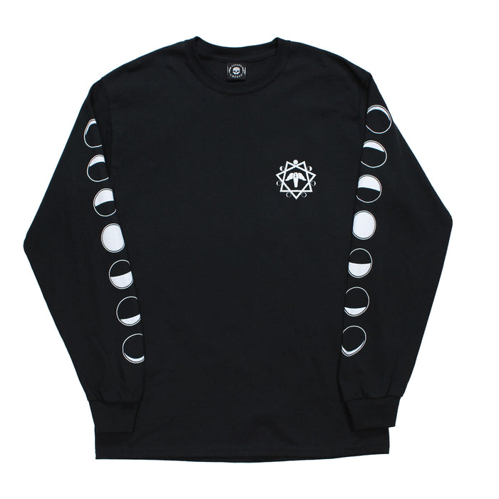 BAD MOON L/S-BLACK