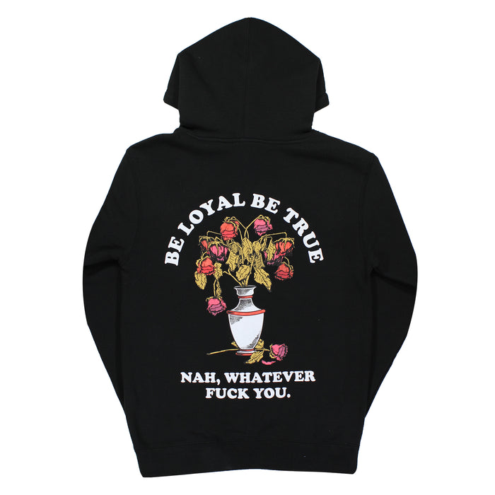BE LOYAL PULLOVER-BLACK