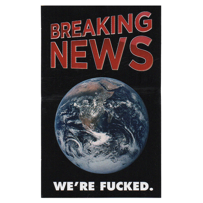 BREAKING NEWS-STICKER