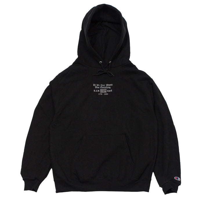 EVERYTHING PULLOVER-BLACK
