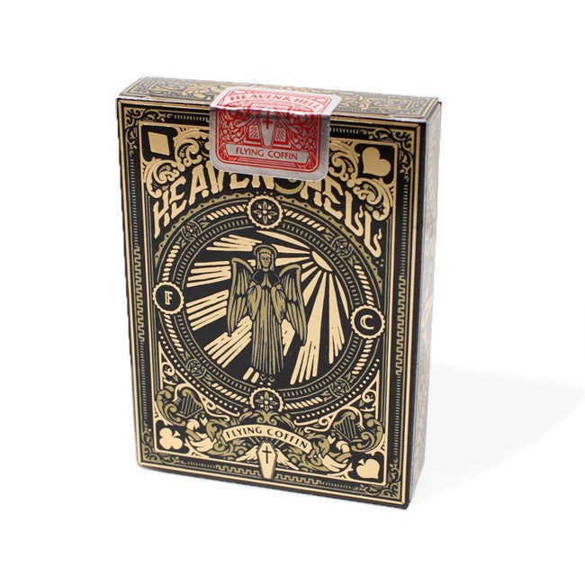 HEAVEN & HELL PLAYING CARDS-GOLD