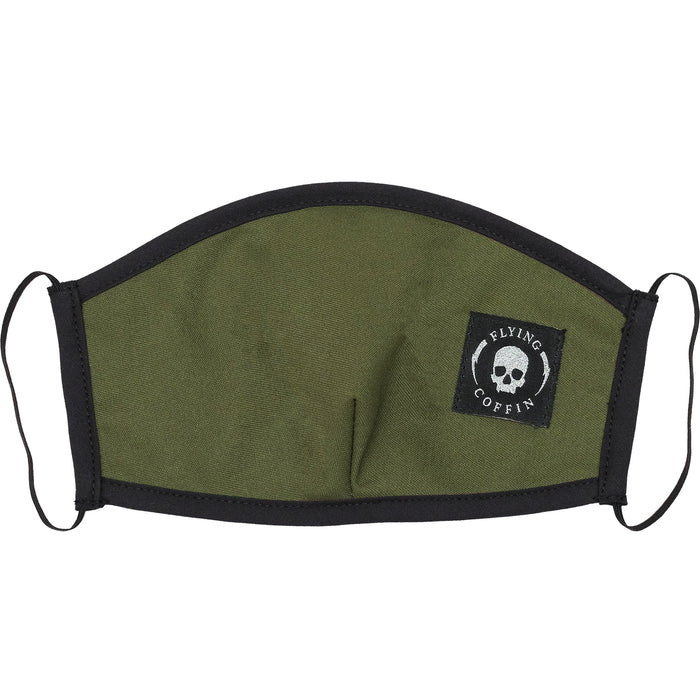 VACCINE MASK-ARMY GREEN