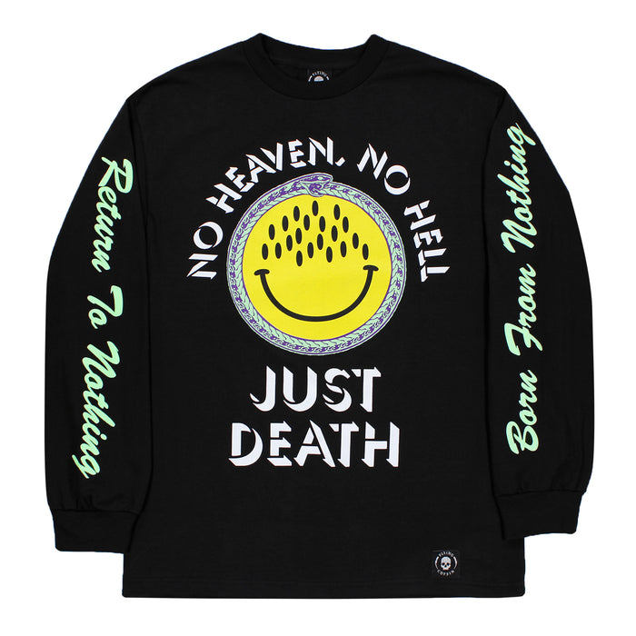 JUST DEATH L/S-BLACK