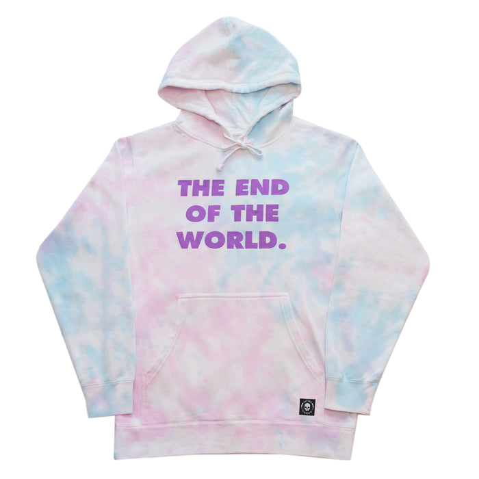 THE END PULLOVER-MIST TIE DYE
