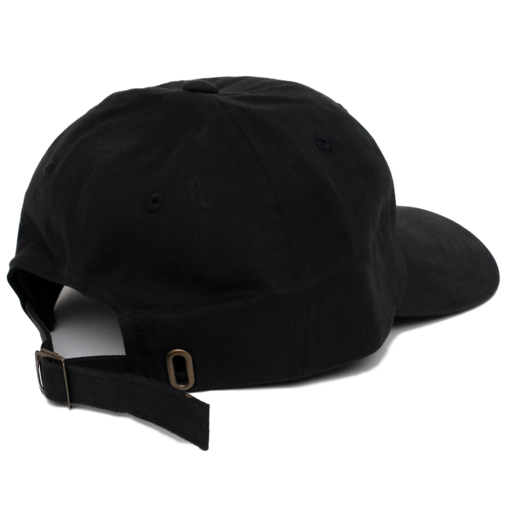 NO GOD DAD HAT-BLACK
