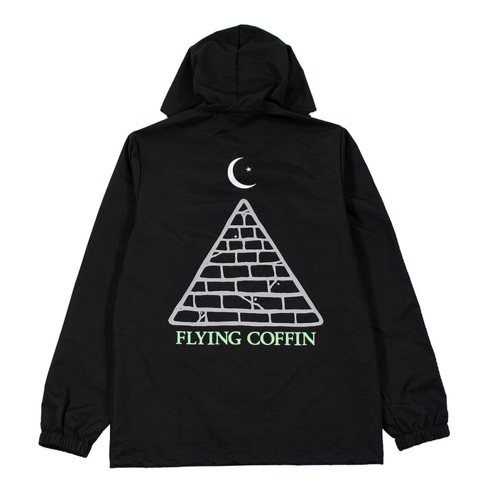 PYRAMID RAIN JACKET-BLACK