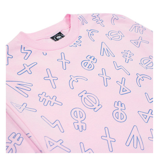 RUNIC PATTERN L/S-PINK
