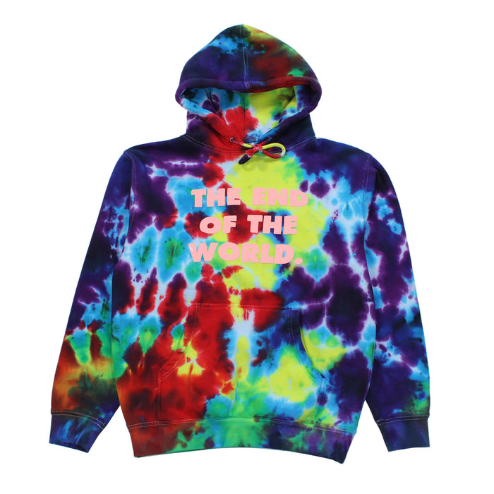THE END PULLOVER-TIE DYE