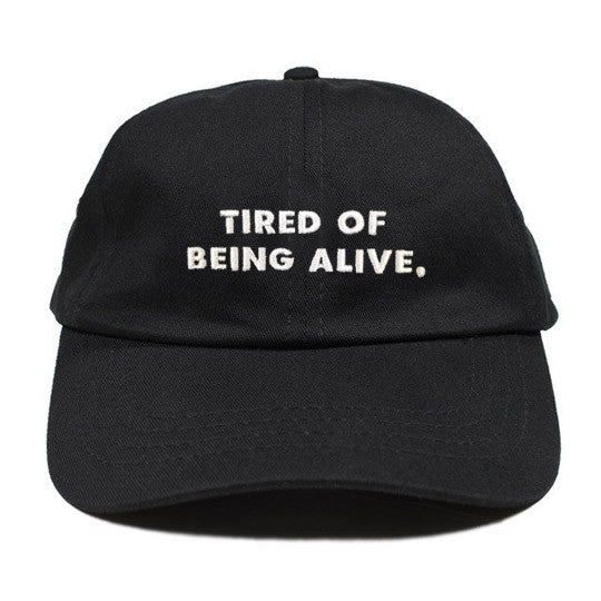 TIRED 6 PANEL-BLACK