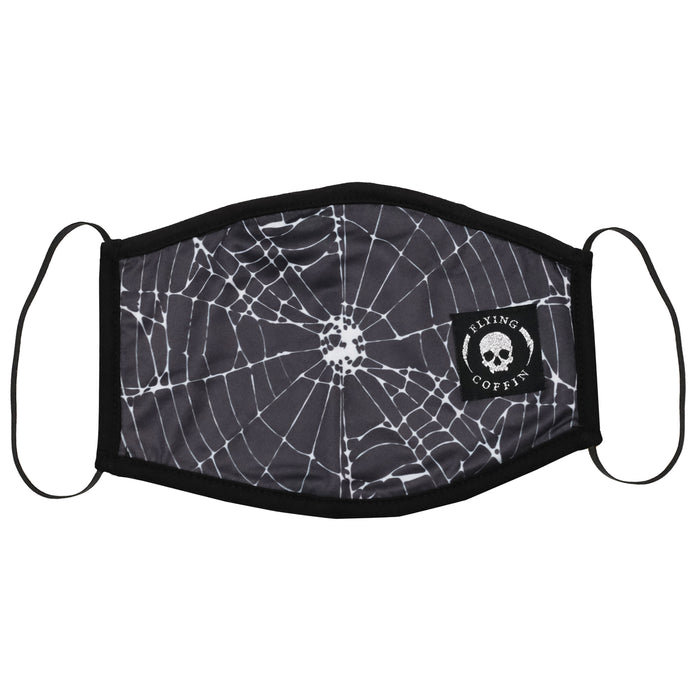 WEB MASK-BLACK
