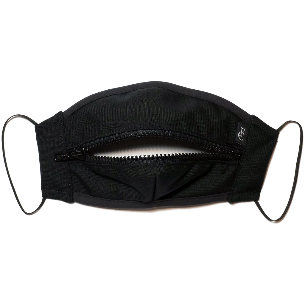 ZIPPER MASK-BLACK