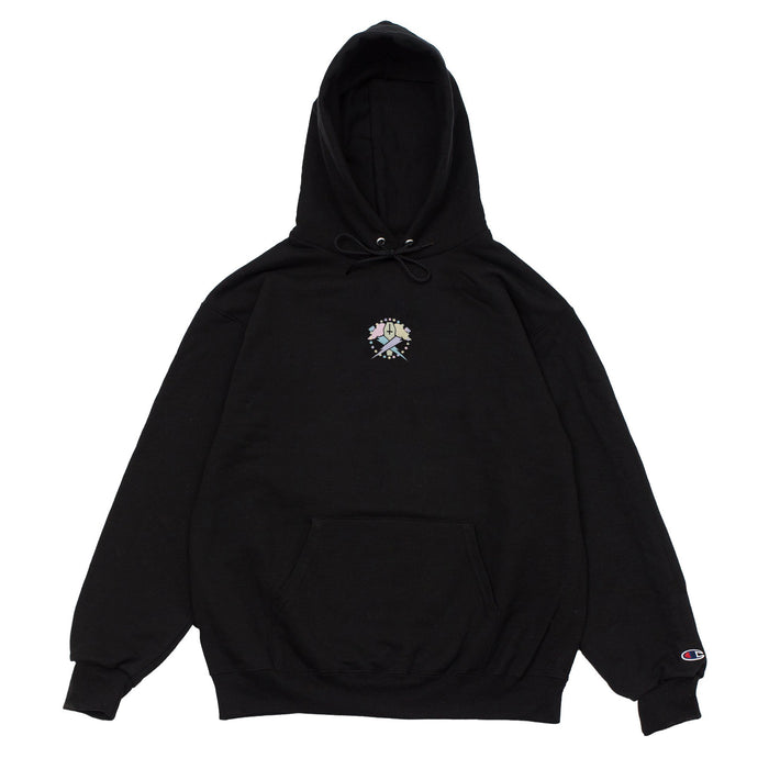BOLTS LOGO GLOW PULLOVER-BLACK
