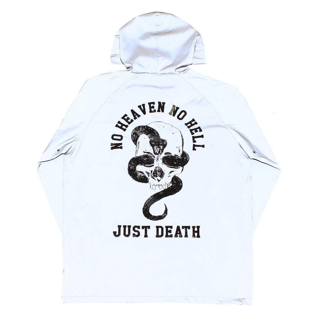 JUST DEATH ANORAK-REFLECTIVE
