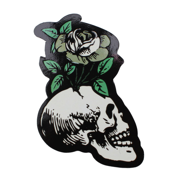 SKULL FLOWER-STICKER