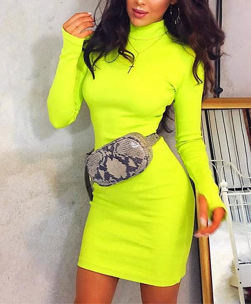 NEON Knitted Dress