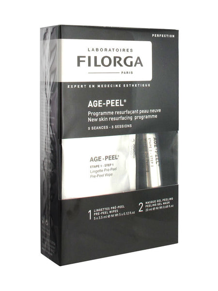 Filorga Age Peel Towelettes x 5 + Gel 20ml