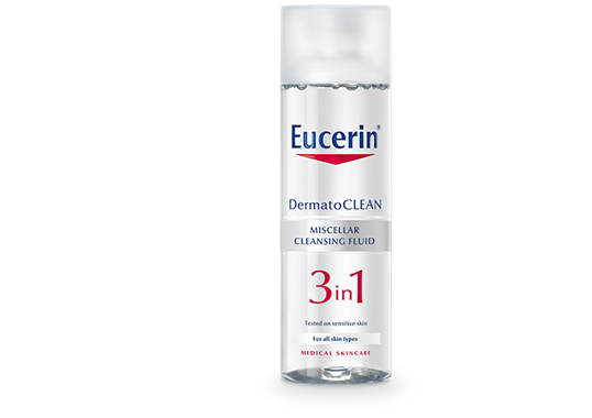 Eucerin DermatoCLEAN 3 in 1 Micellar Cleansing Fluid 200ml