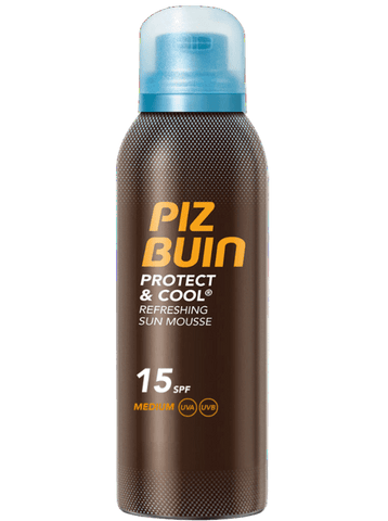 Piz Buin Protect Cool Mousse SPF 15 150ml