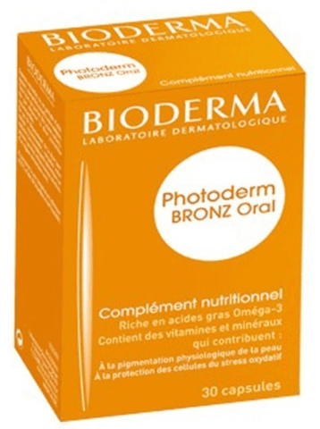 Bioderma Photoderm Bronze Caps 30 units