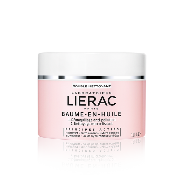 Lierac Double Cleansing Balm in Oil Dry Skin