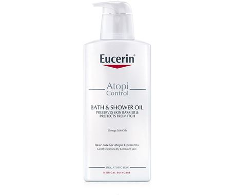 Eucerin AtopiControl Bath and Shower Oil 400ml