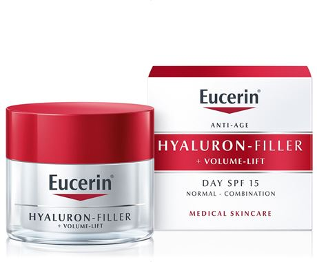 Eucerin Hyaluron-Filler + Volume Lift Day SPF 15 Light Cream 50ml