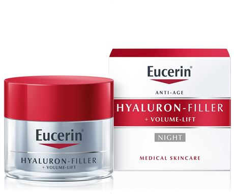 Eucerin Hyaluron-Filler + Volume Lift Night Cream 50ml