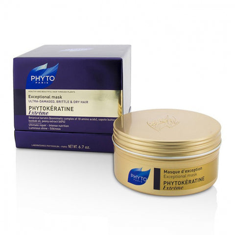 Phyto Phytokeratine Extreme Exceptional Mask (Ultra-Damaged, Brittle & Dry Hair)  200ml
