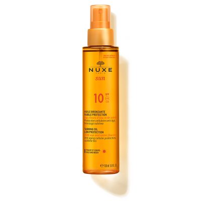 Nuxe Sun Tanning Oil for Face and Body FPS10 150ml